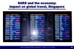 sars and the economy impact on global travel singapore