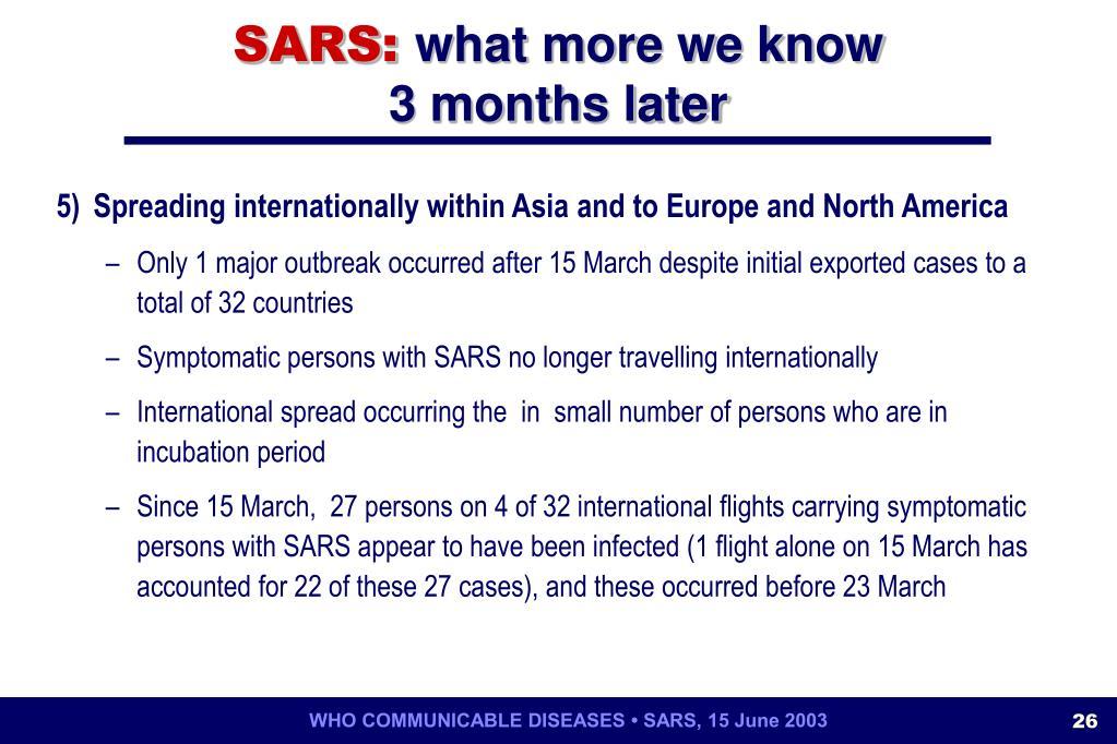 SARS:
