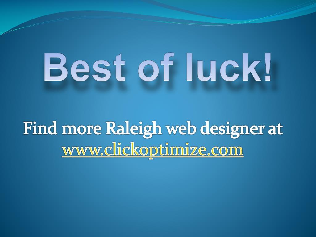 Best of luck!