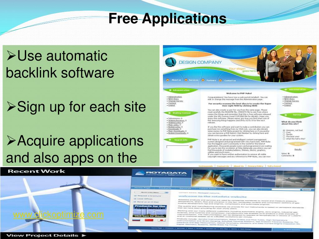 Free Applications
