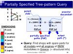 partially specified tree pattern query14