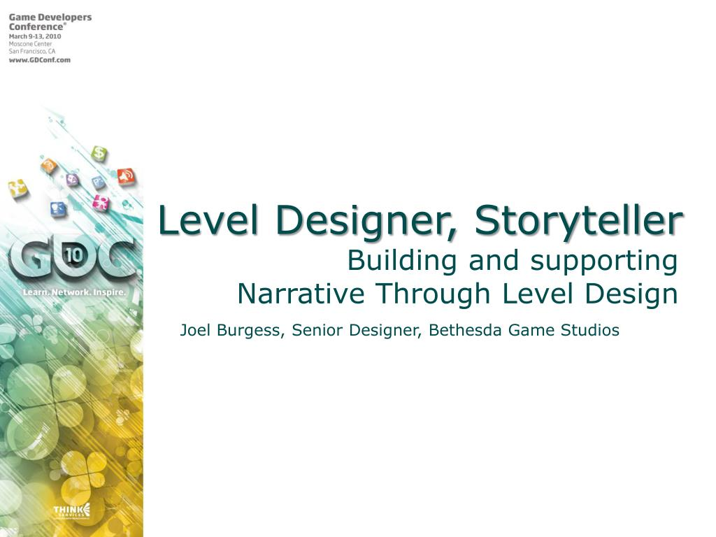 Level Designer, Storyteller