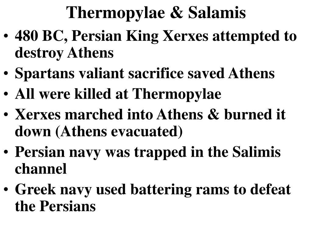 Thermopylae & Salamis