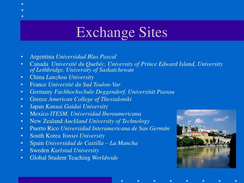 Exchange Sites