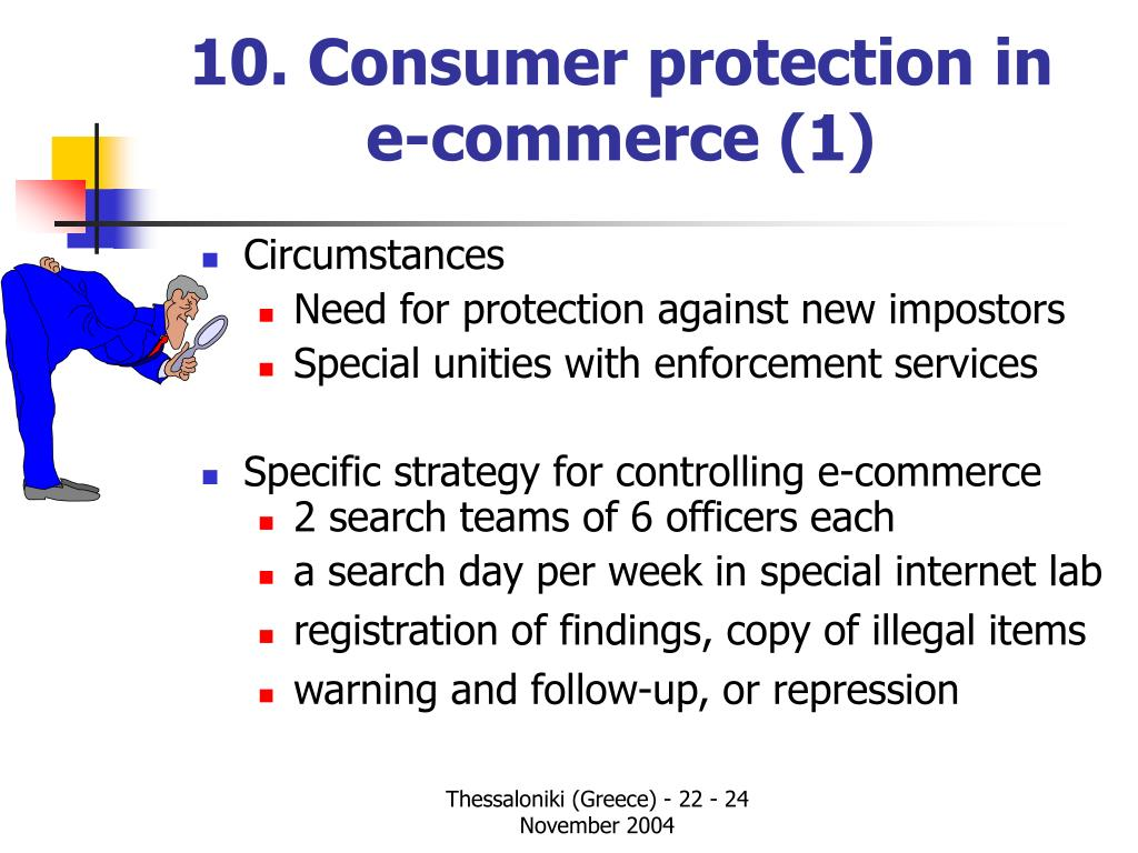 10. Consumer protection in