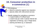 10 consumer protection in e c ommerce 1
