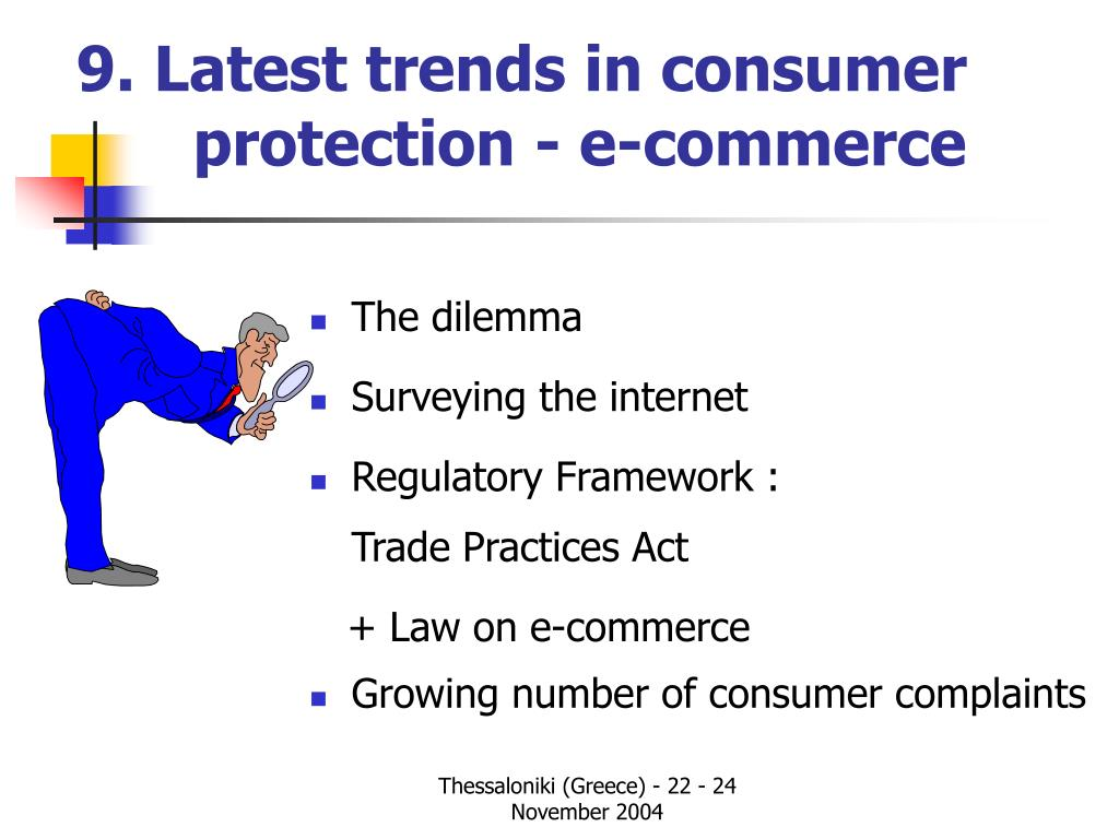 9. Latest trends in consumer