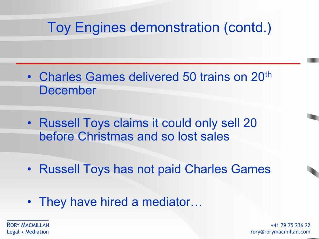 Toy Engines demonstration (contd.)