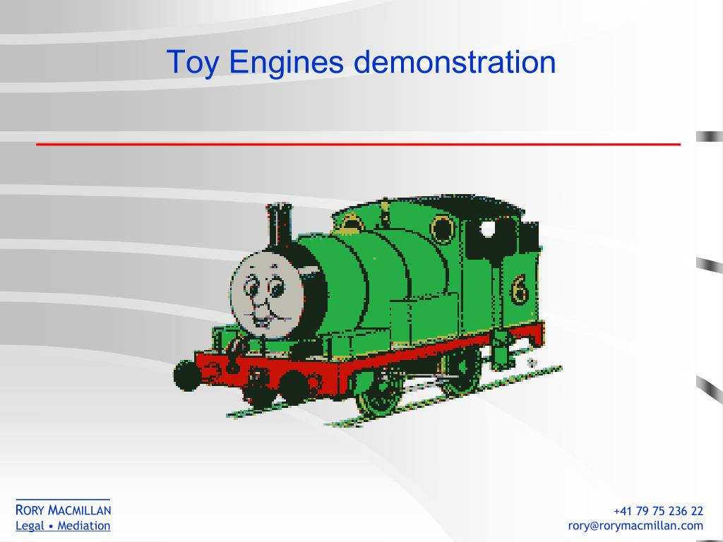 Toy Engines demonstration