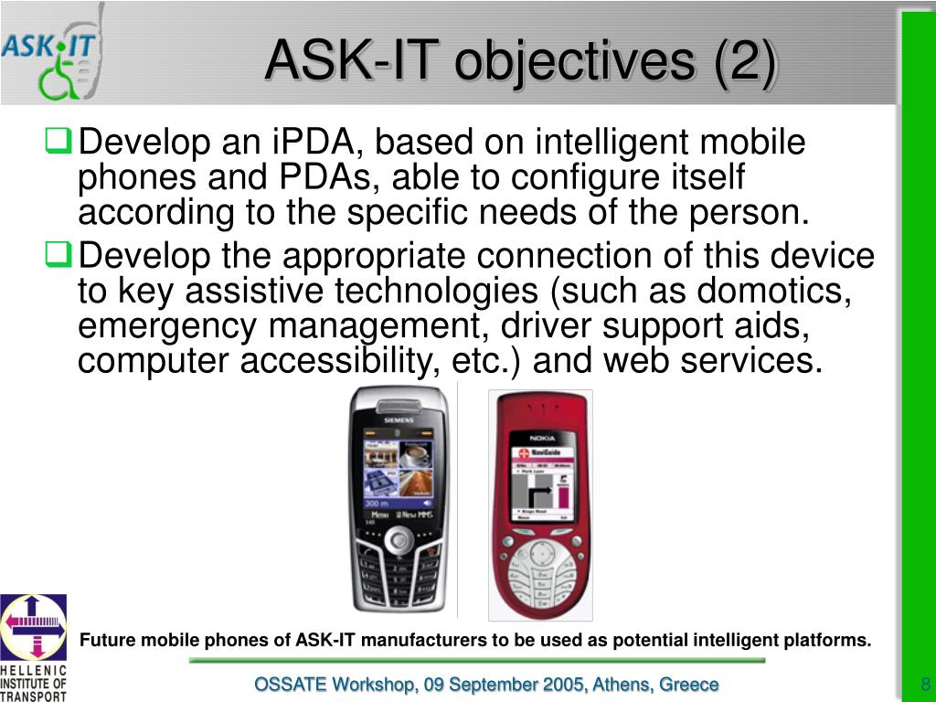 ASK-IT objectives (2)