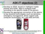 ask it objectives 2