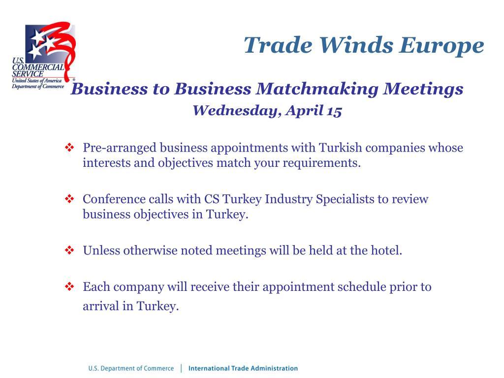 Trade Winds Europe