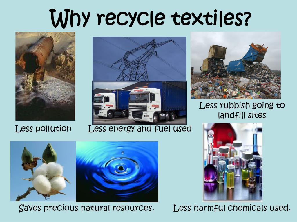 Why recycle textiles?