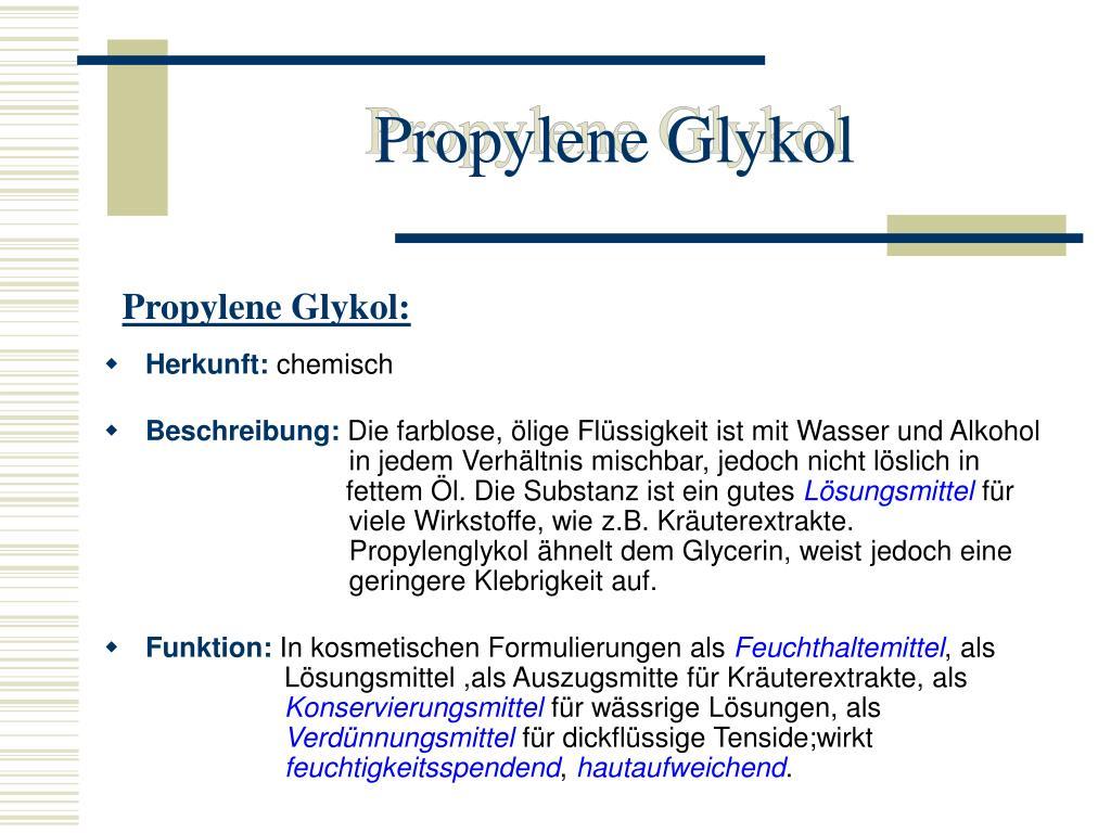 Propylene Glykol