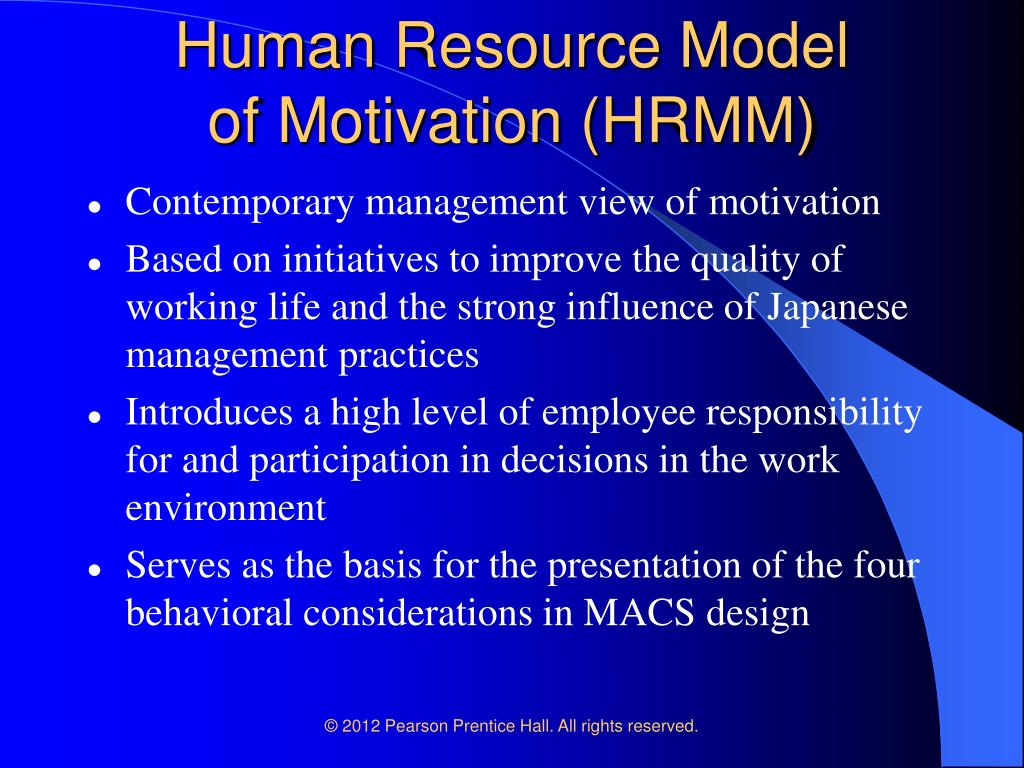 an analysis of the behavior of groups in human resource management Management and organizational processes: an underlying rhetorical model with close analysis, we can reconstruct the actual process that occurred since human behavior functions as a purposive system.