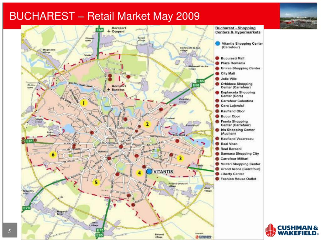 BUCHAREST – Retail Market May 2009