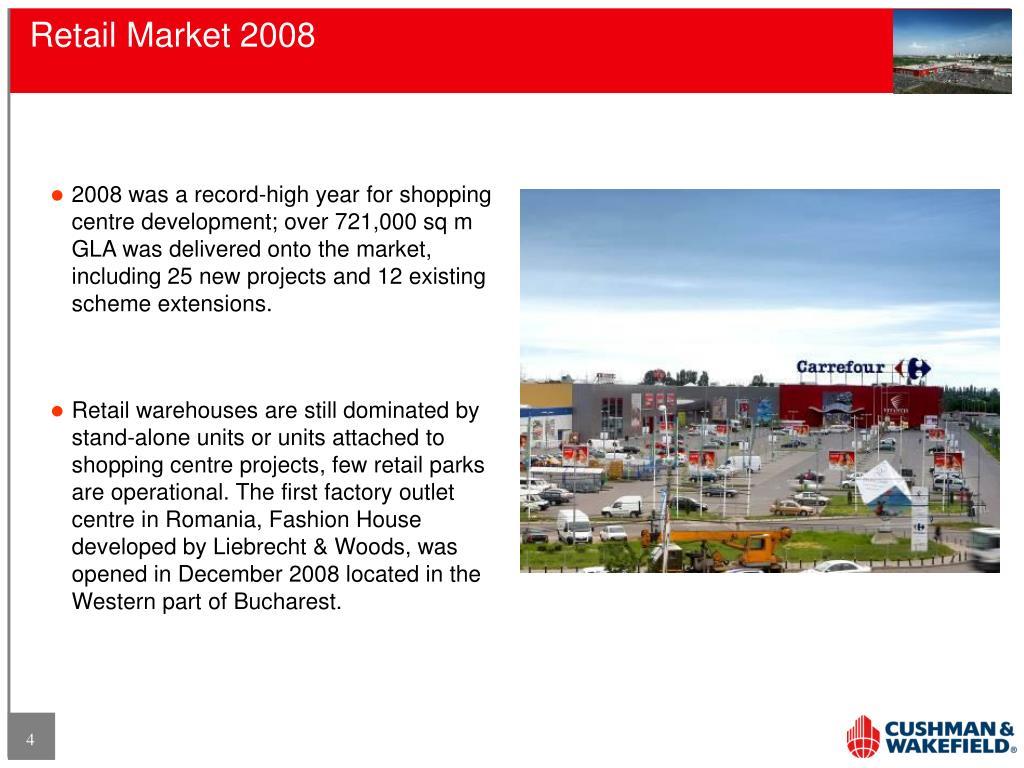 Retail Market 2008