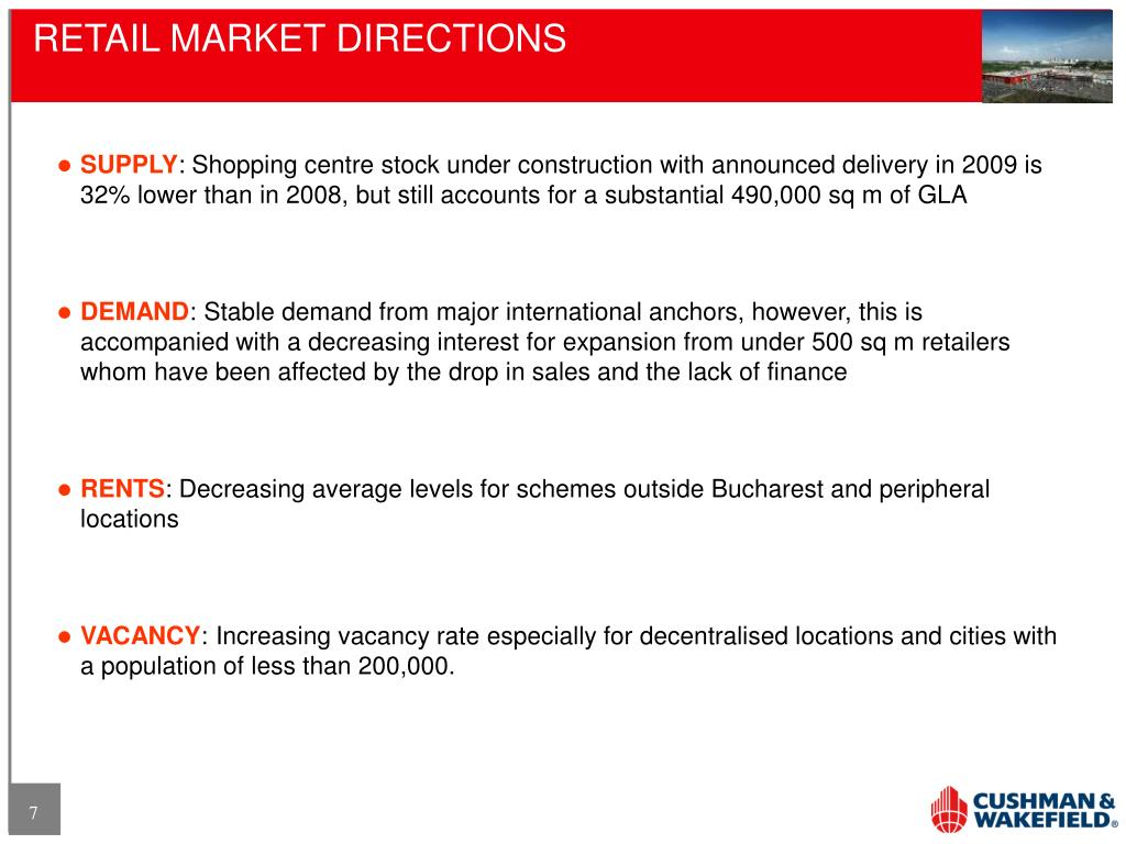 RETAIL MARKET DIRECTIONS