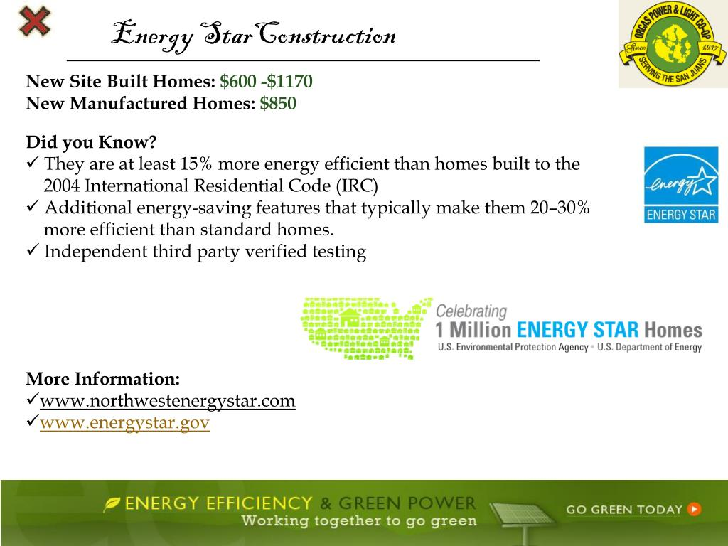 Energy StarConstruction