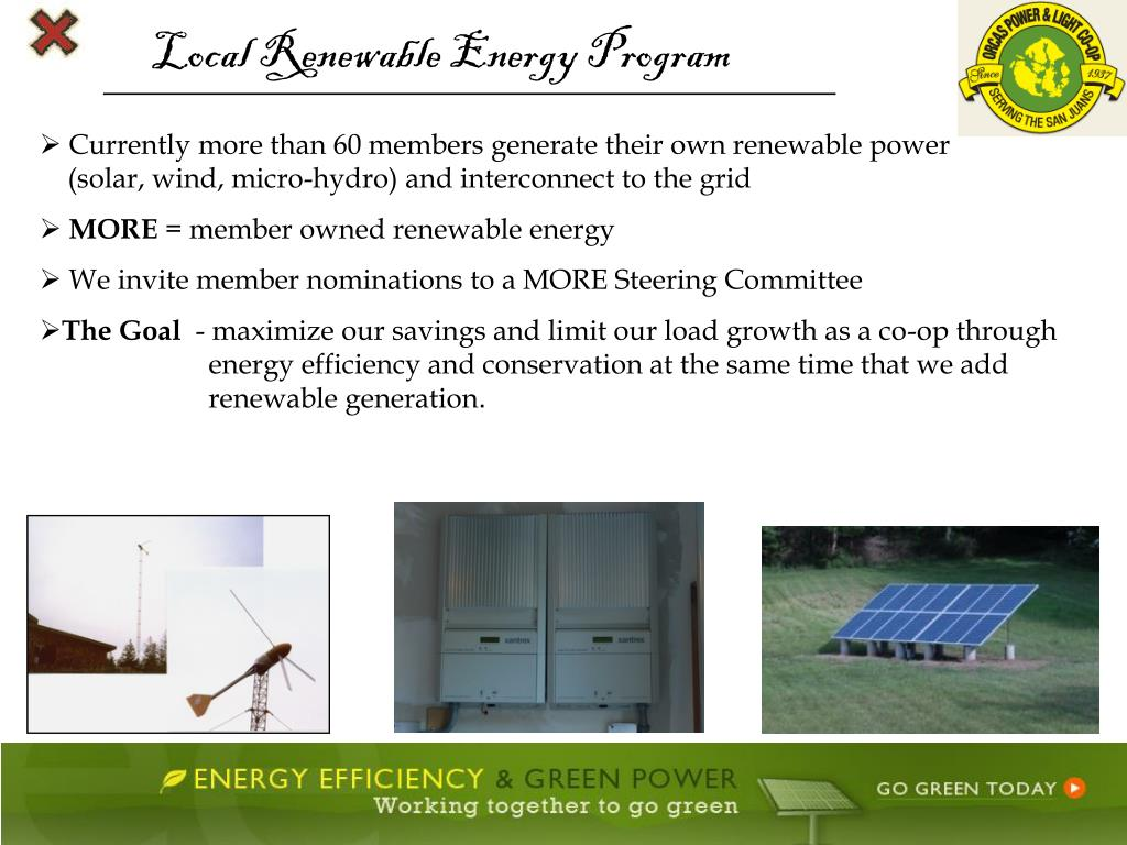 Local Renewable Energy Program