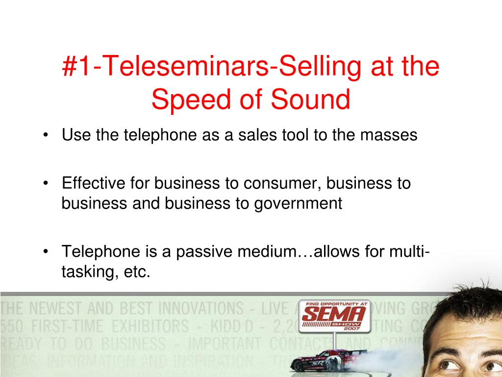 #1-Teleseminars-Selling at the Speed of Sound