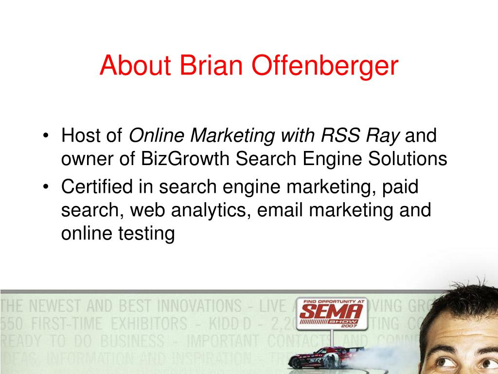 About Brian Offenberger