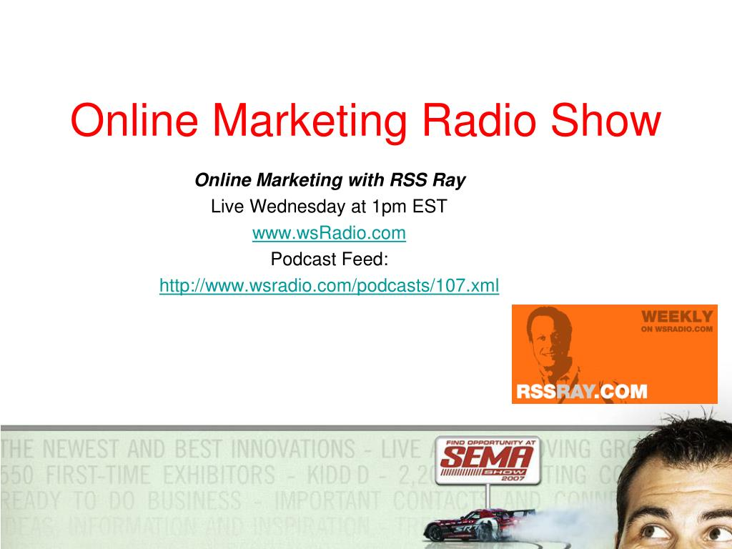 Online Marketing Radio Show