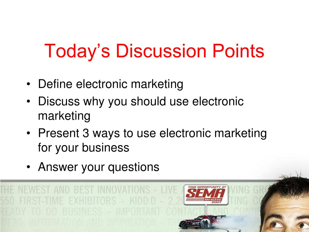 Today's Discussion Points