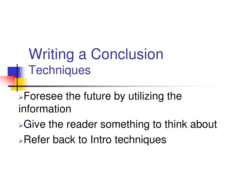 writing a conclusion in an essay 24 introduction and conclusion every essay or paper designed to be persuasive needs a paragraph at the very outset introducing how to write a conclusion.