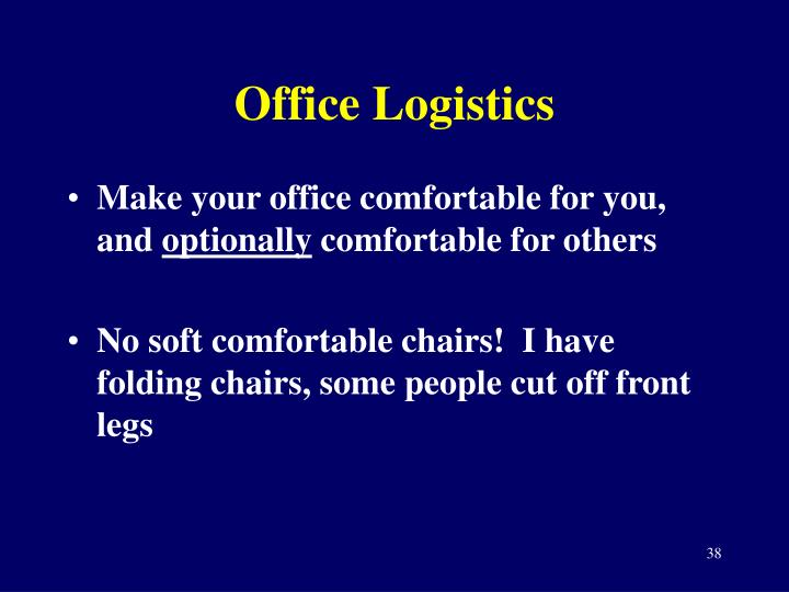 Office Logistics