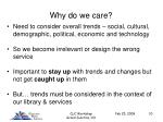 why do we care10