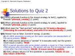 solutions to quiz 2