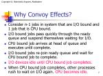 why convoy effects