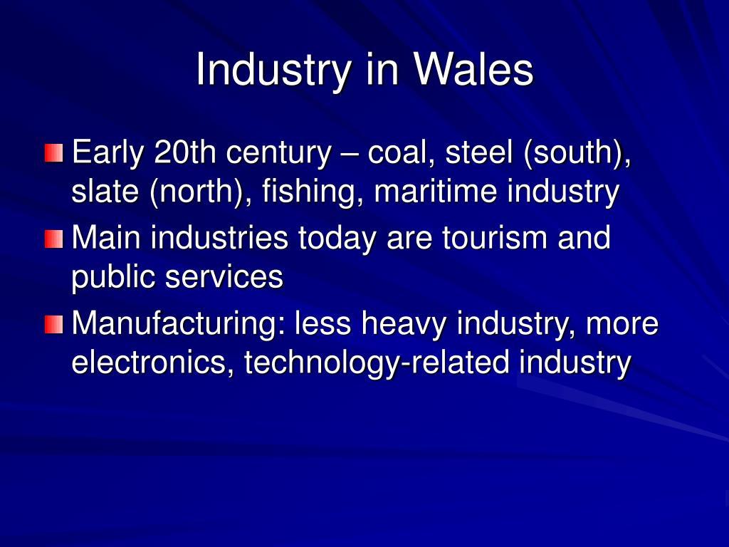 Industry in Wales