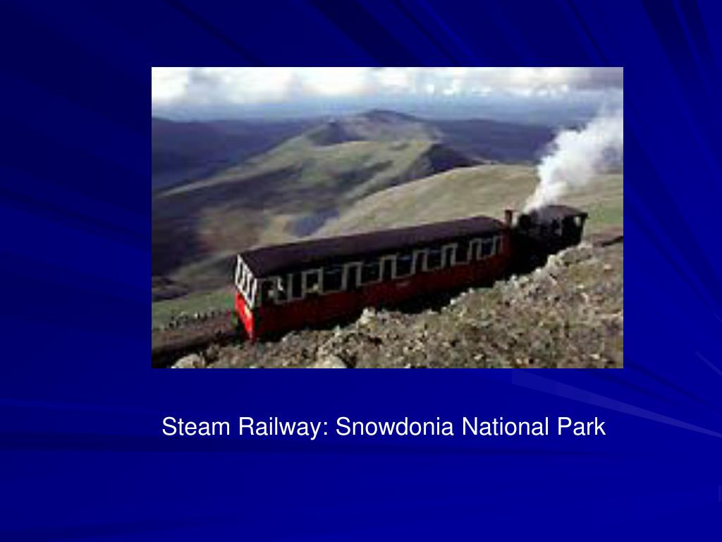 Steam Railway: Snowdonia National Park