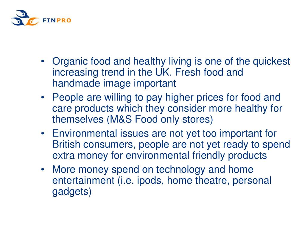 Organic food and healthy living is one of the quickest increasing trend in the UK. Fresh food and handmade image important