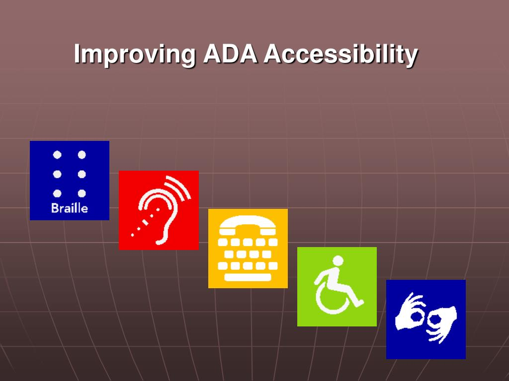 Improving ADA Accessibility