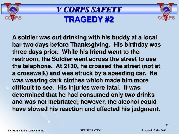 TRAGEDY #2