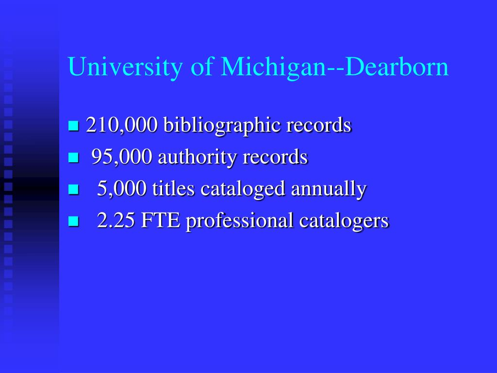 University of Michigan--Dearborn