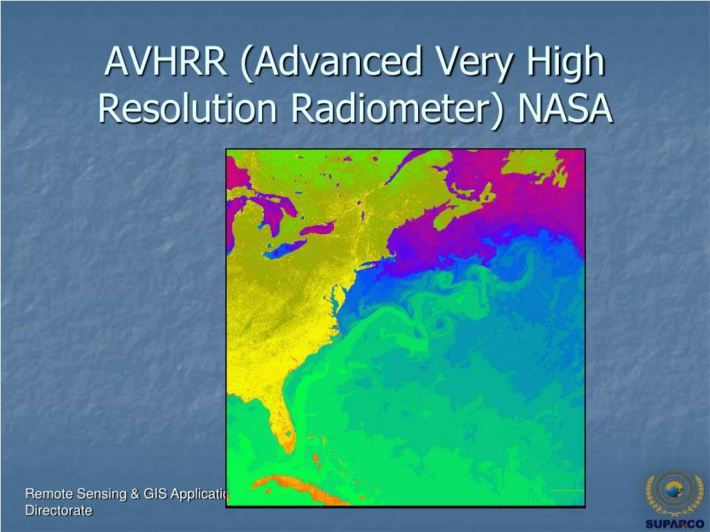 AVHRR (Advanced Very High Resolution Radiometer) NASA