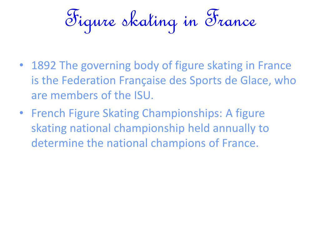 Figure skating in France