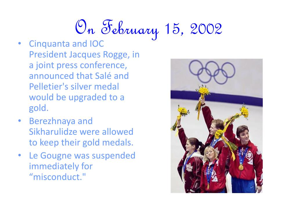 On February 15, 2002