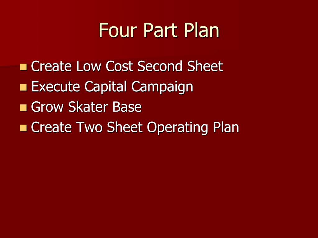 Four Part Plan