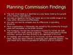 planning commission findings6