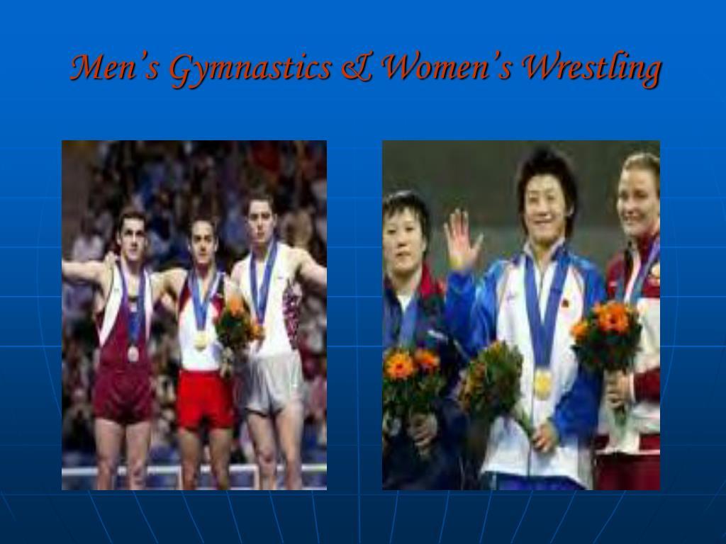 Men's Gymnastics & Women's Wrestling