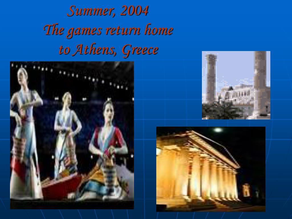 Summer, 2004
