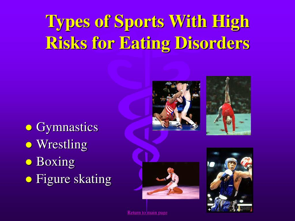 Types of Sports With High Risks for Eating Disorders