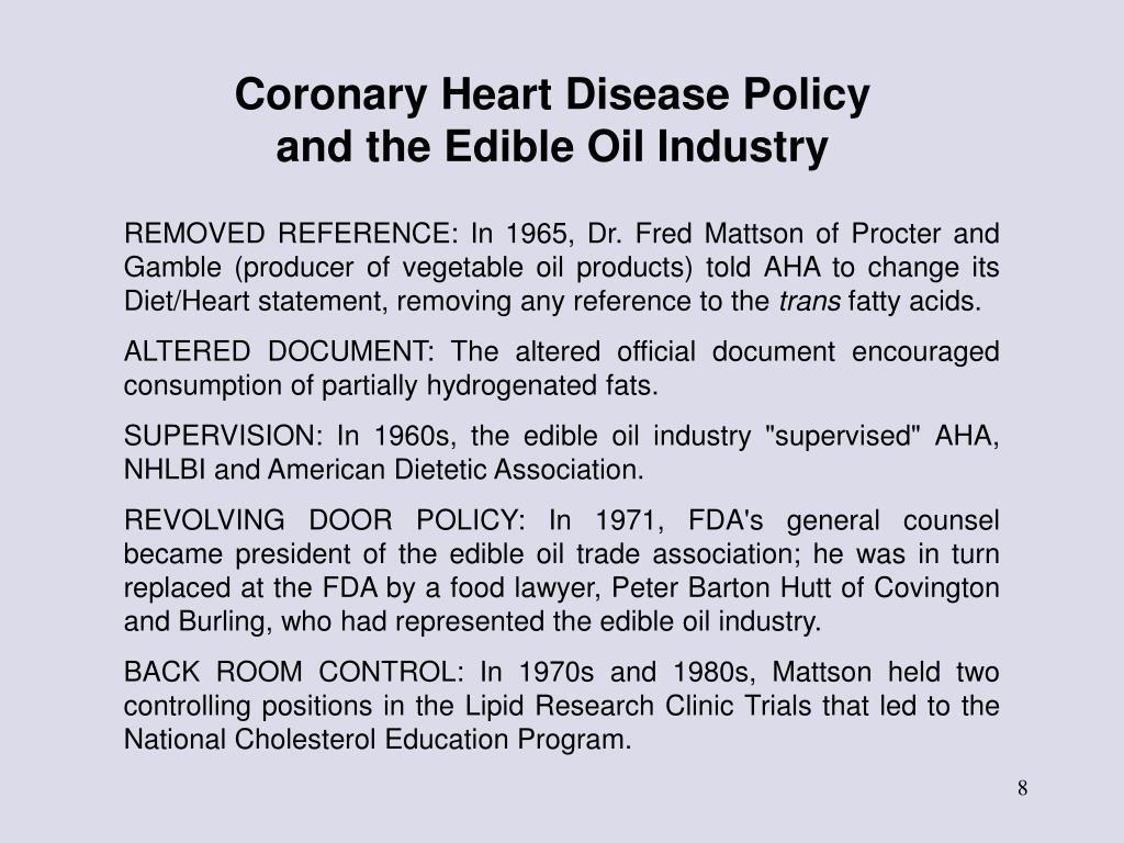 Coronary Heart Disease Policy
