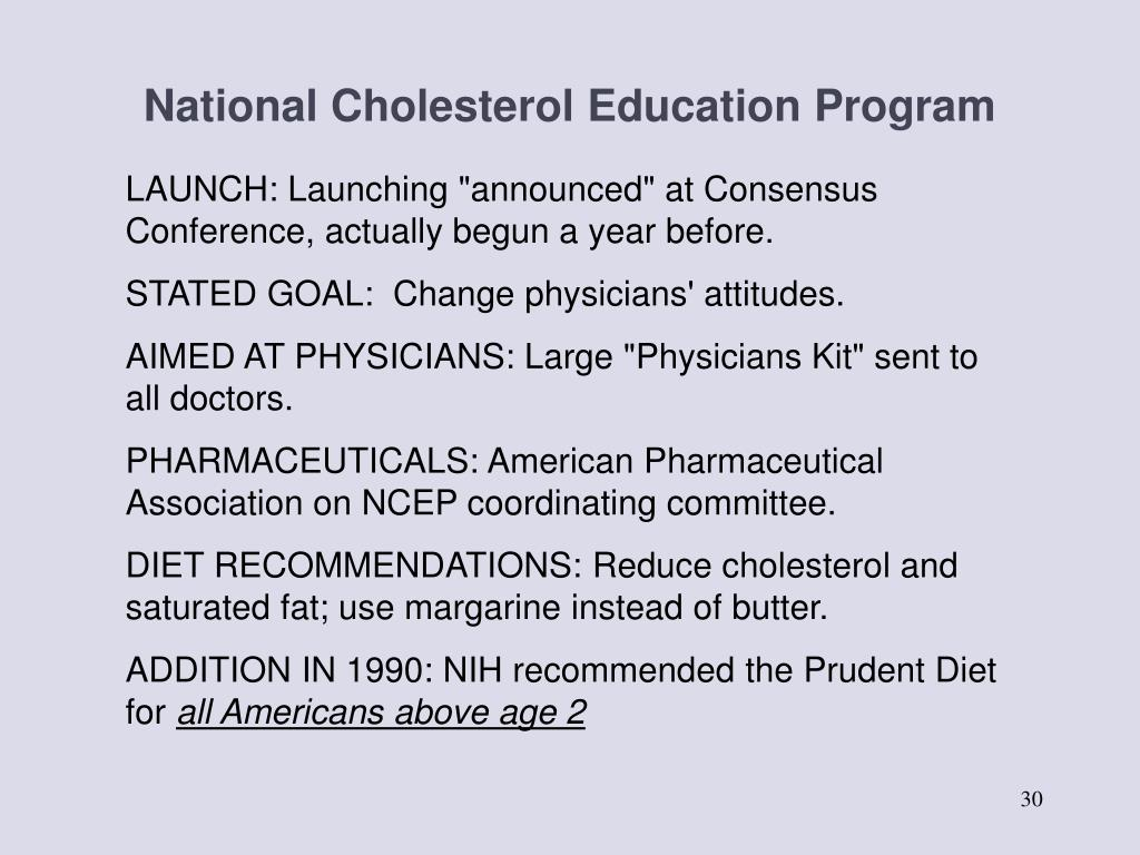National Cholesterol Education Program