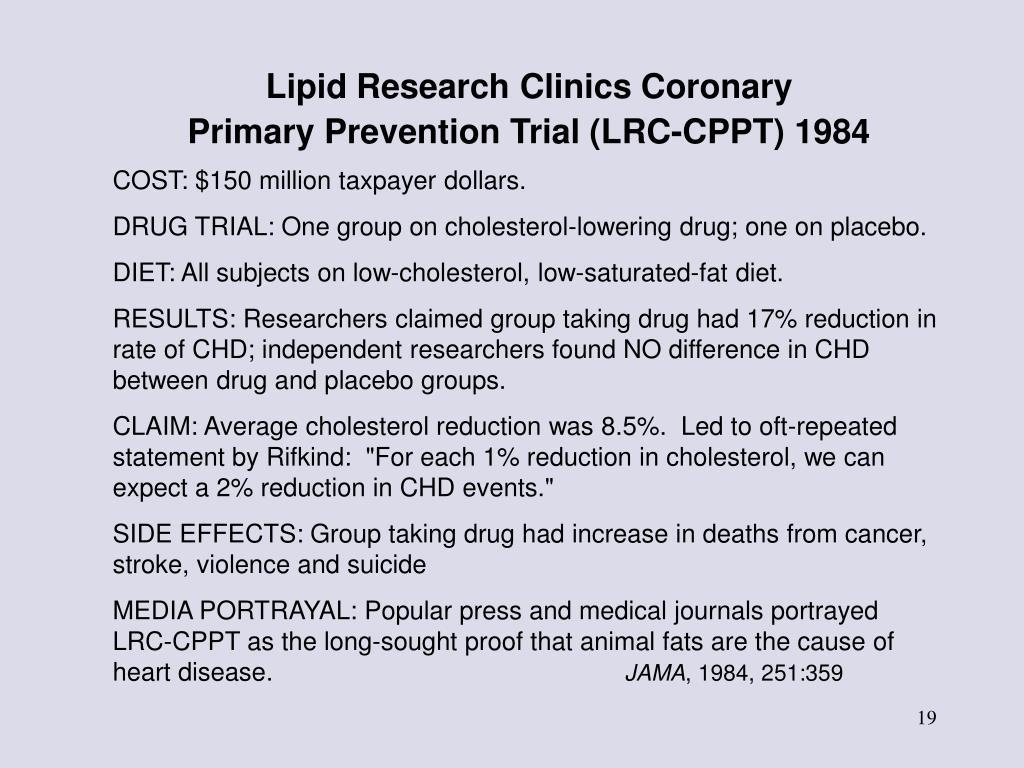 Lipid Research Clinics Coronary